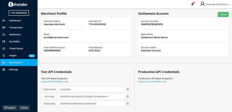 Theteller API Documentation